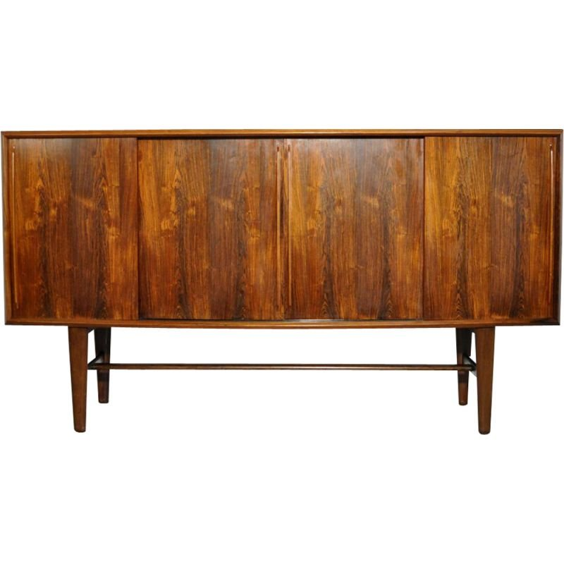 Mid-century Rosewood sideboard by Arne Vodder for HP Hansen, Danish 1960s