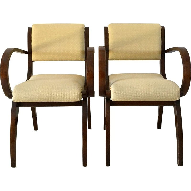 Pair of Stella 1950 Vintage Armchairs