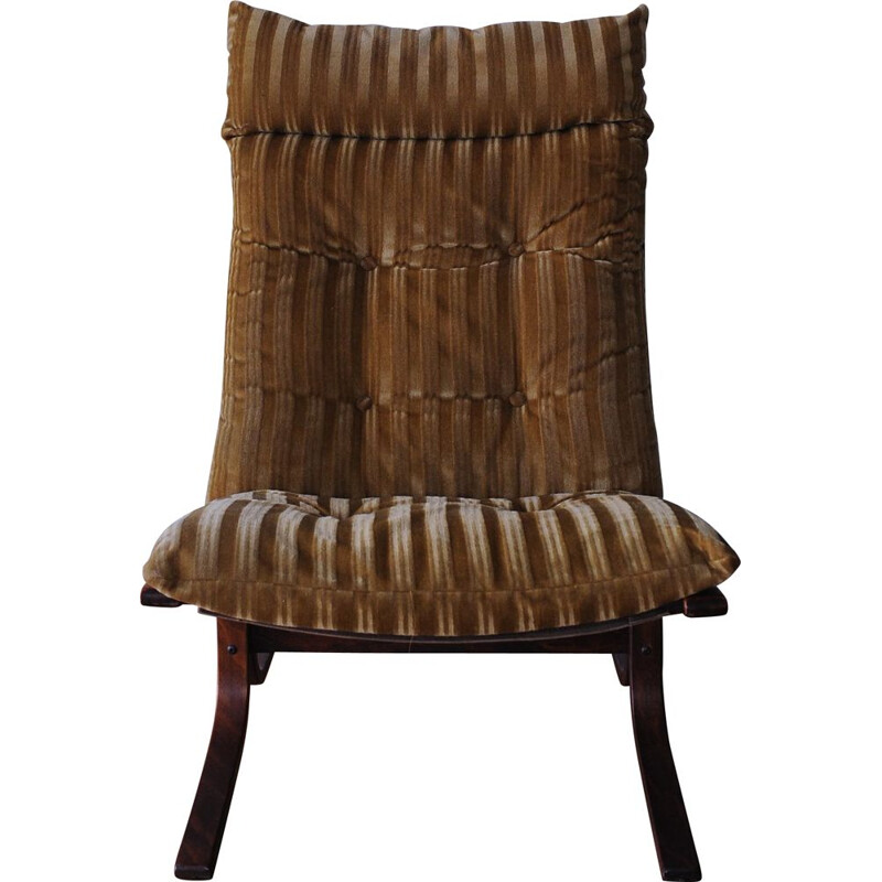 Vintage Siesta Lounge Chair Bentwood by Ingmar Relling for Westnofa, 1960s
