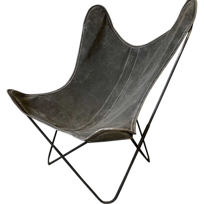 Vintage Butterfly AA armchair by Hardoy Ferrari, Bonet Antoni Kurchan Juan for Knoll and Airborne 1950