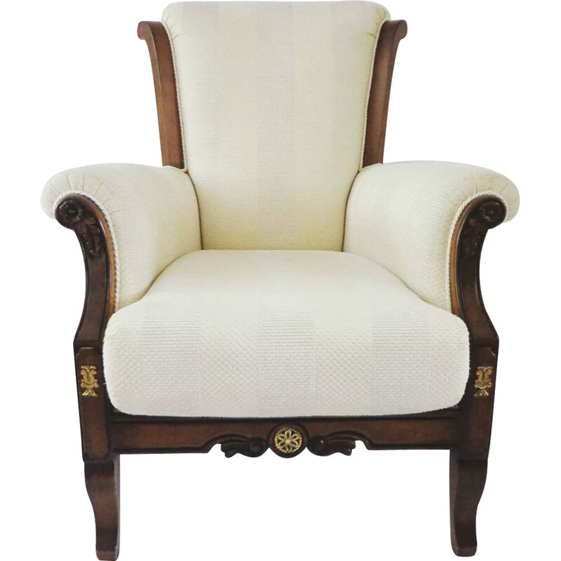 Vintage Mahogany armchair  English