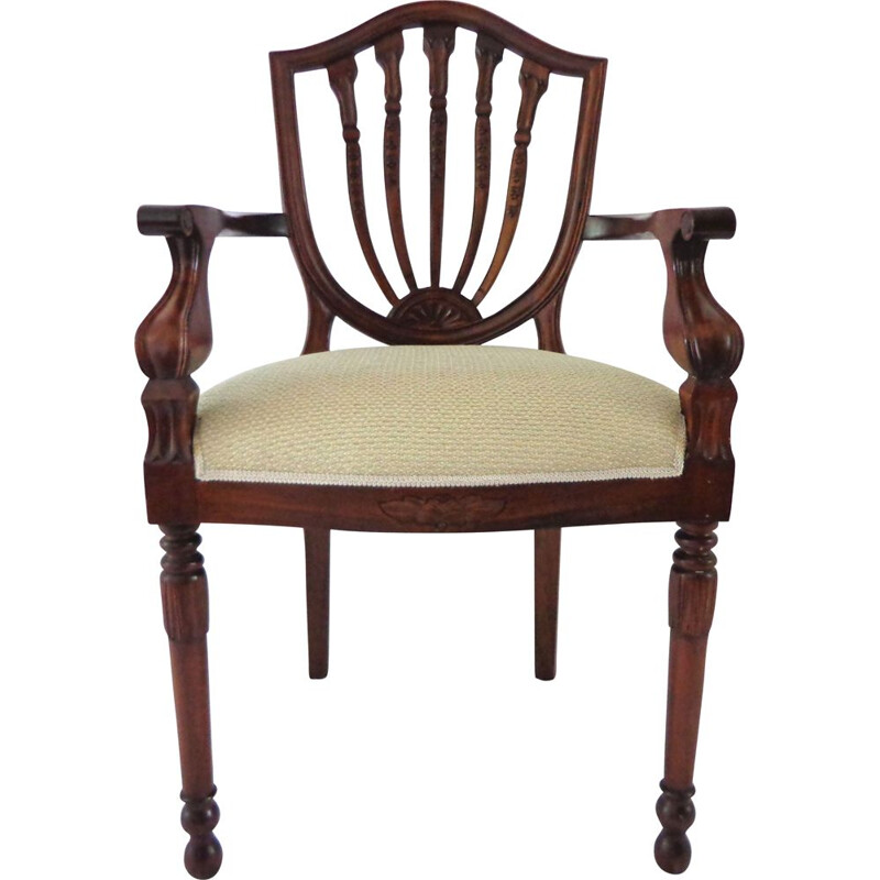 Vintage Mahogany chair , English