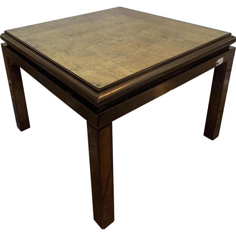 Pair of vintage coffee tables Maisons Jansen 1960