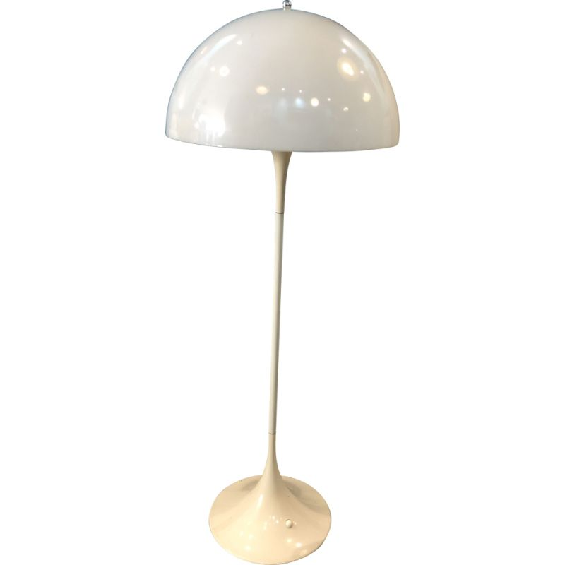 Vintage panthella floor lamp by Verner Panton