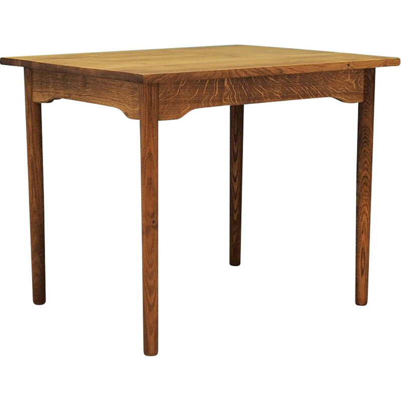 Vintage ashwood Table, Danish 1980