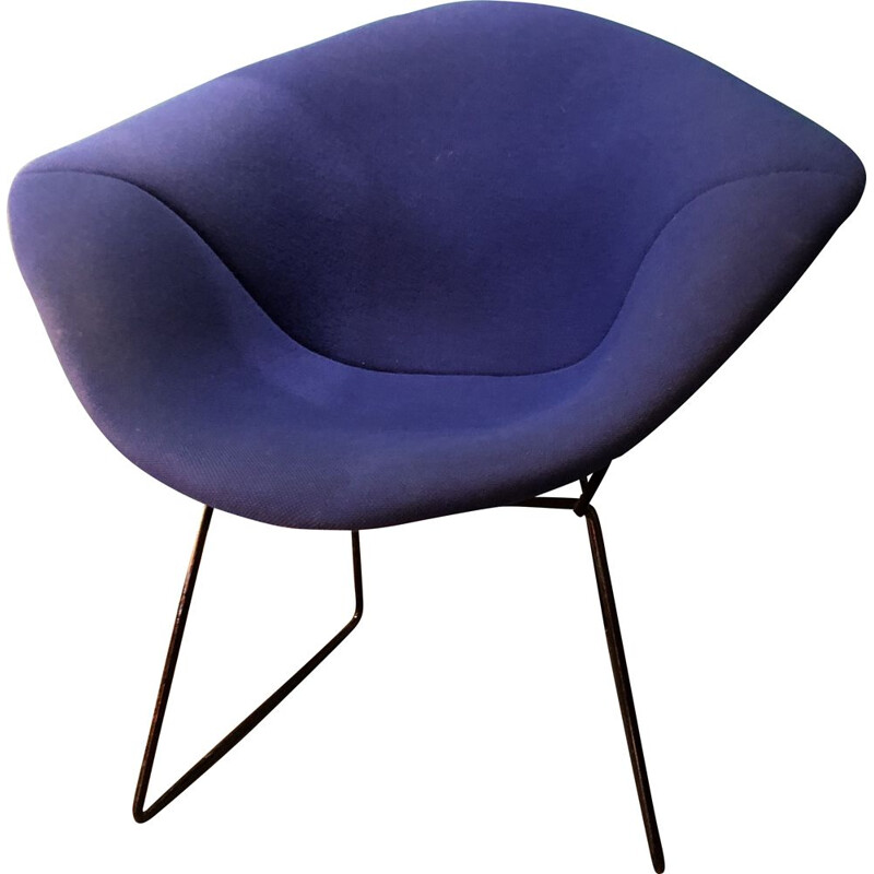 Vintage diamond armchair Harry Bertoia 1970