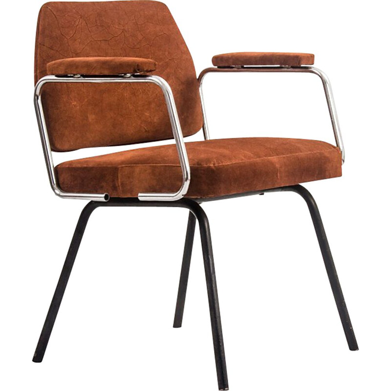 Vintage Leather Chair, 1970s