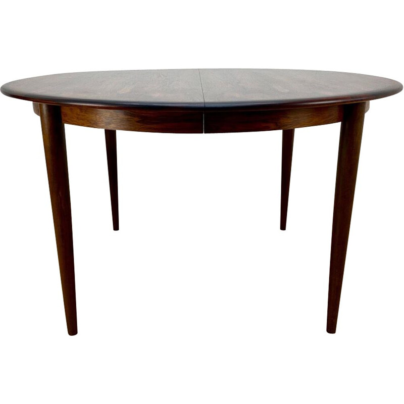 Mid Century Rosewood Dining Table 1960s