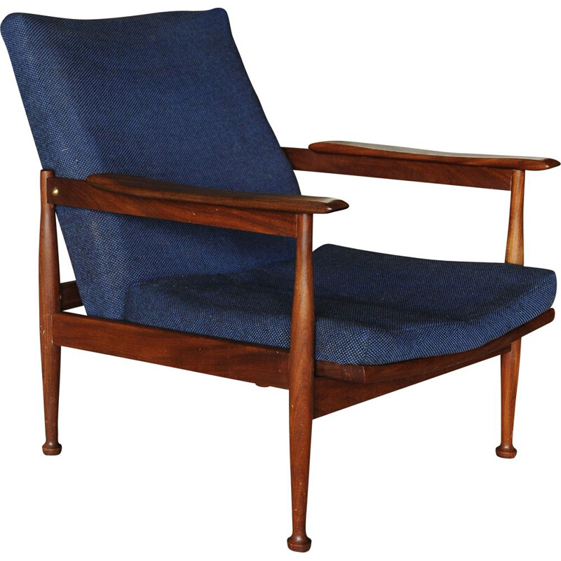Vintage Lounge Chair  Teak  Guy Rogers Manhattan 1967