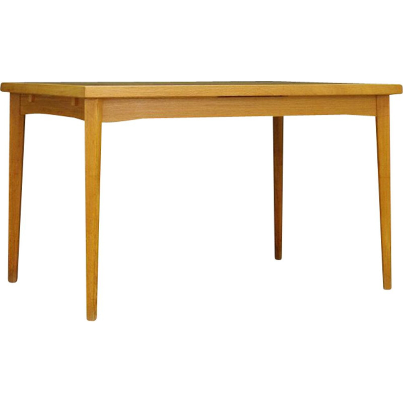 Vintage ashwood dining table Danish 1960s