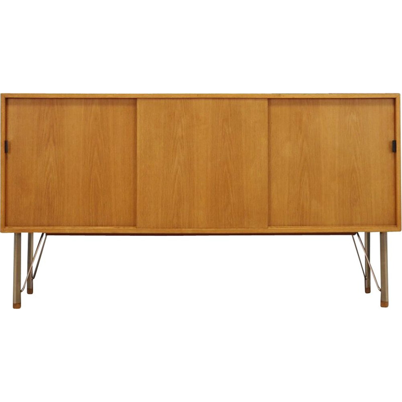 Vintage sideboard in ashwood and metal danish 1960