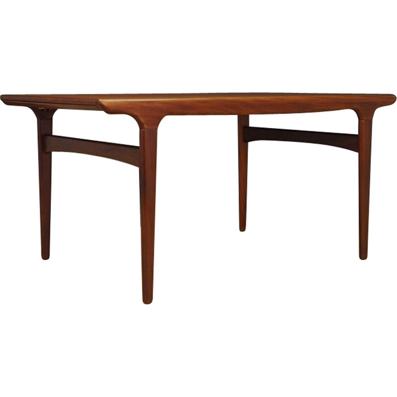 Vintage teak table for Uldum scandinavian 1970