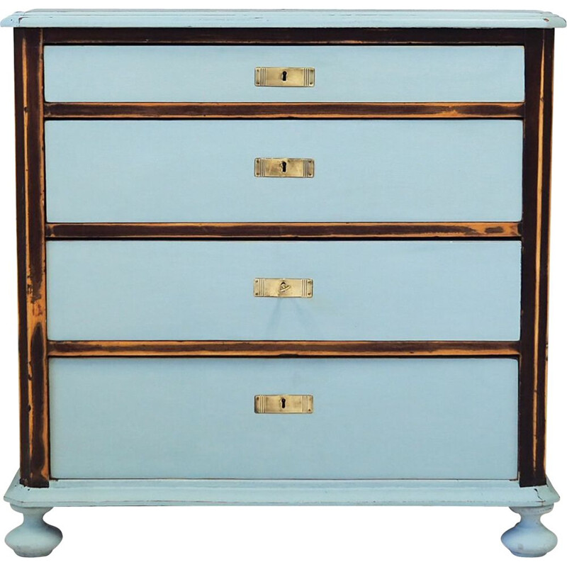 Vintage Pine chest of drawers, Swedish 1930s