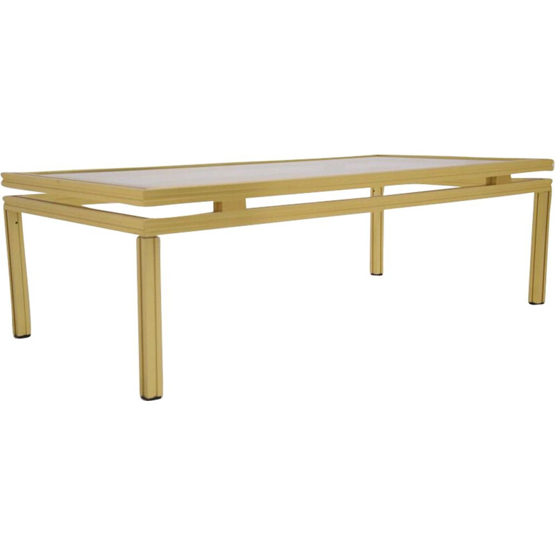 Vintage minimalist coffee table by Pierre Vandel Paris, 1970