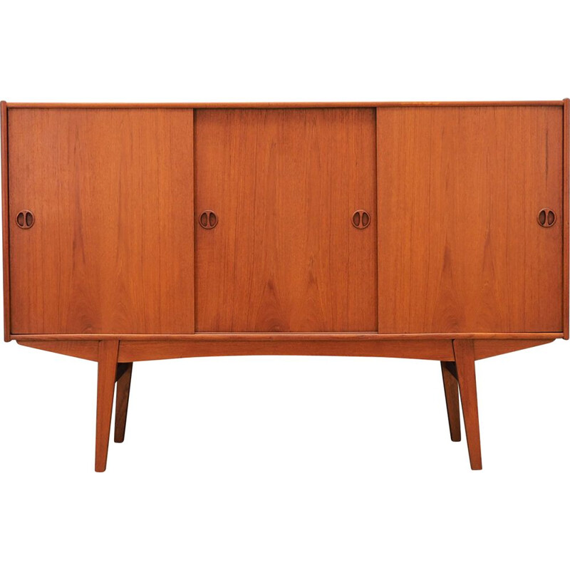 Vintage Highboard teak, Danish 1970s