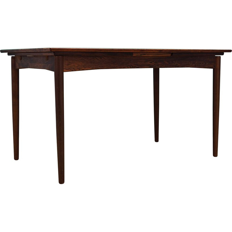 Vintage Skovby table rosewood Scandinavian 1960s