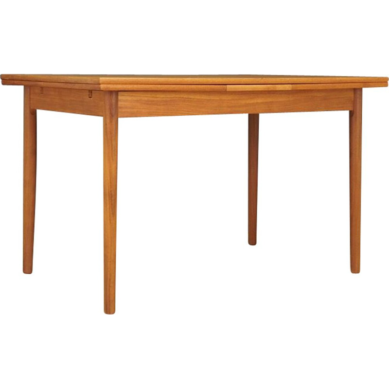 Vintage dinning table teak Danish 1970