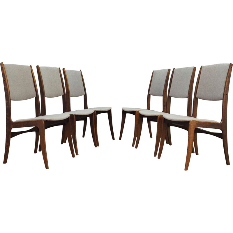 Set of 6 Vintage Chairs by As Skovby Mobel Fabrik from Denmark 1970