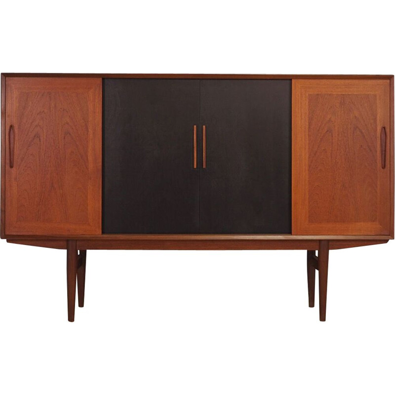Mid century highboard teak danish 1970s
