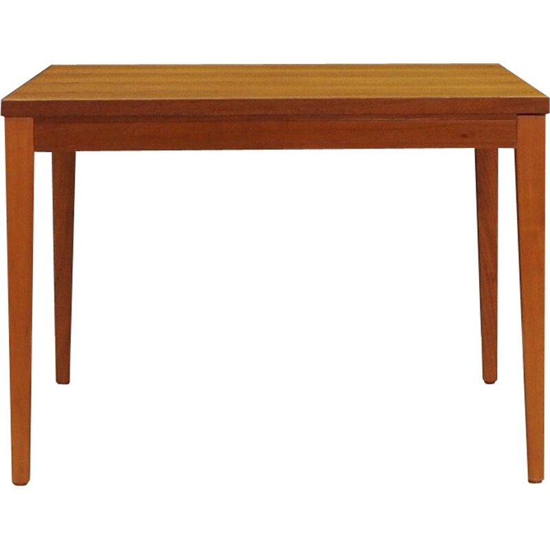 Vintage table teak wood Danish 1960s