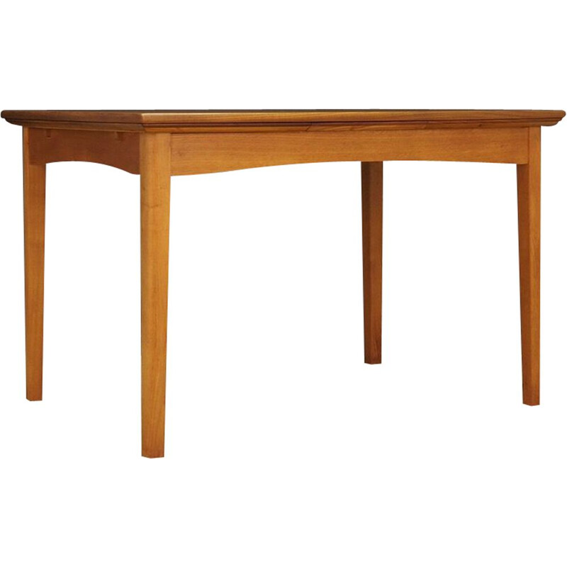 Vintage table teak Danish 1970s
