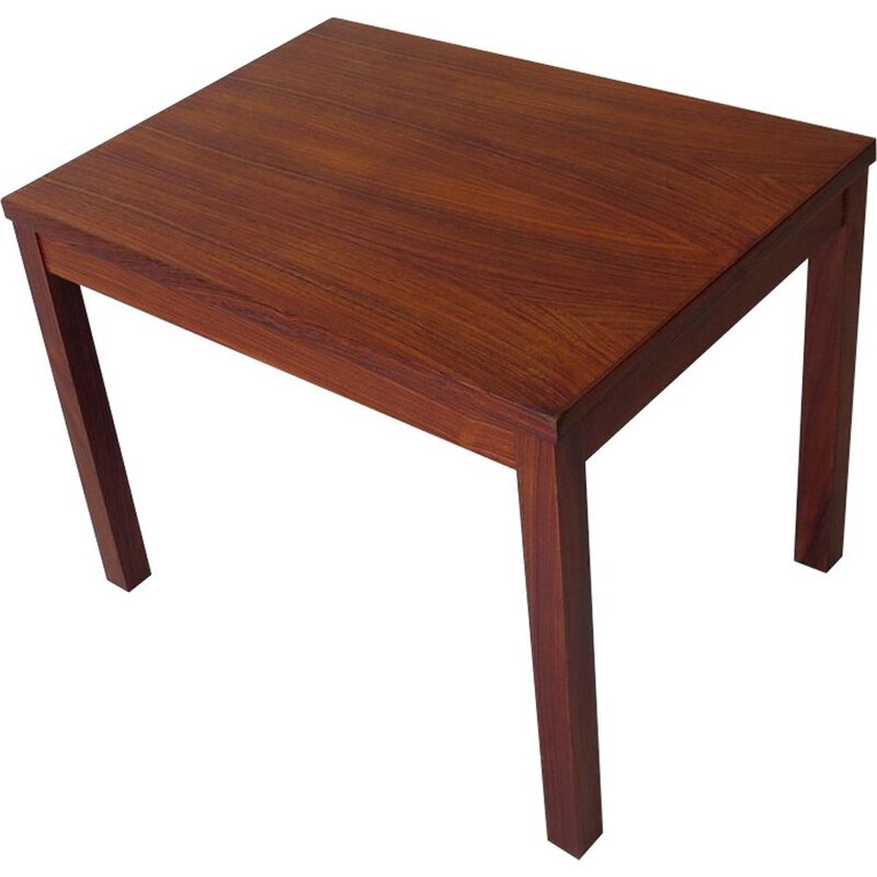 Vintage Rosewood Veneer side table, 1970s