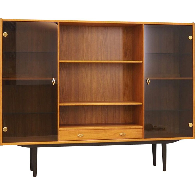 Vintage bookcase library Scandinavian 1970s