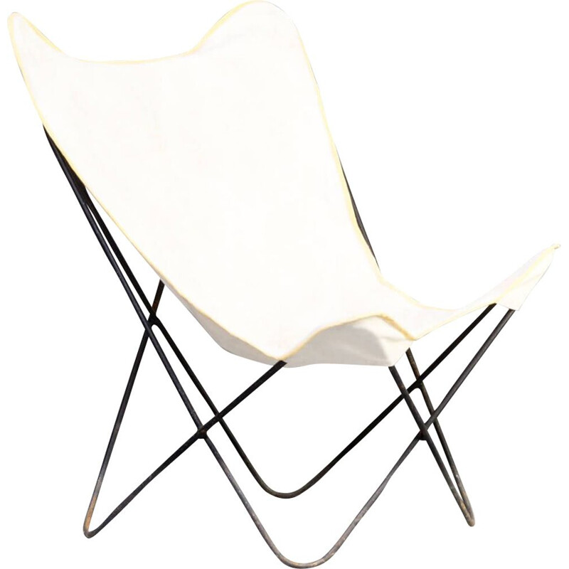 Vintage 'butterfly' chair for Knoll Jorge Ferrari-Hardoy 1950s