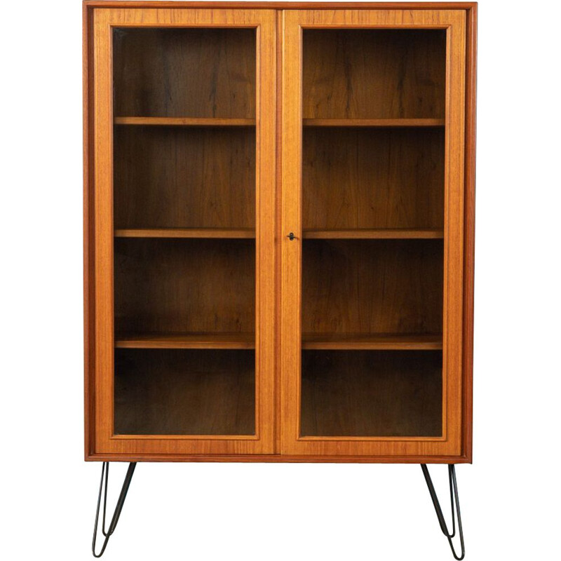 Vintage Showcase in teak H. Riestenpatt 1960s