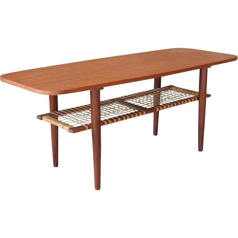 Vintage Coffee Table Danish 1950
