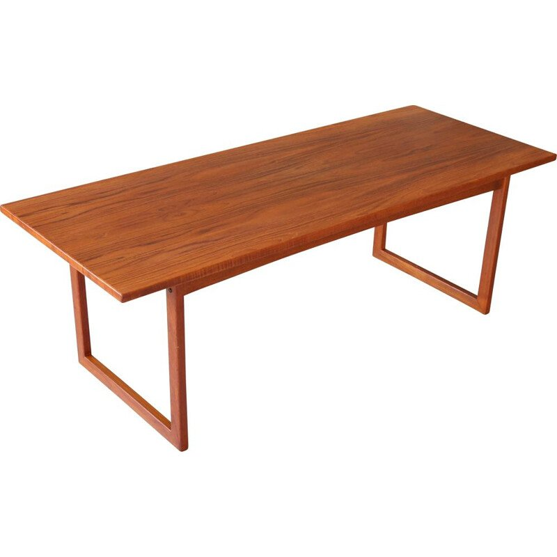 Vintage Anton Kildeberg Teak Coffee Table Danish 1960
