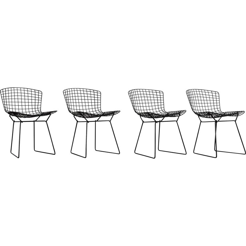 Set of 4 Vintage Chairs by Harry Bertoia for Knoll, 1960