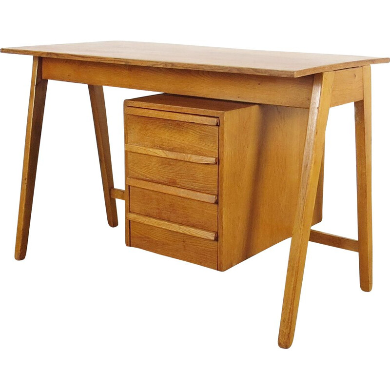 Vintage Writting table Czechoslovakia 1960s