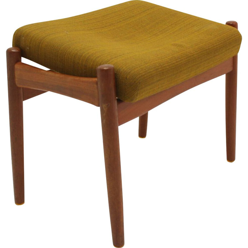 Vintage footstool or hocker Danish