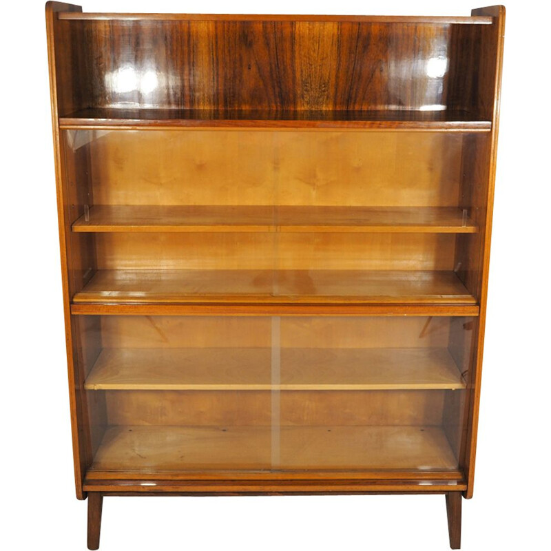 Vintage Walnut Cupboard from Tatra, 1960s