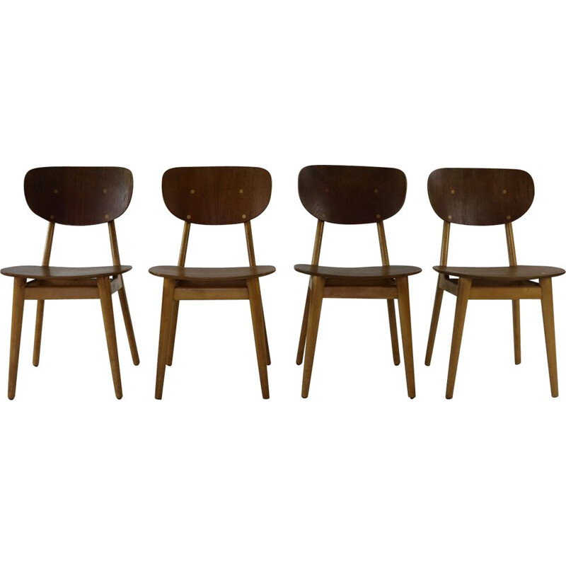 4 vintage dinner chairs Cees Braakman for UMS Pastoe