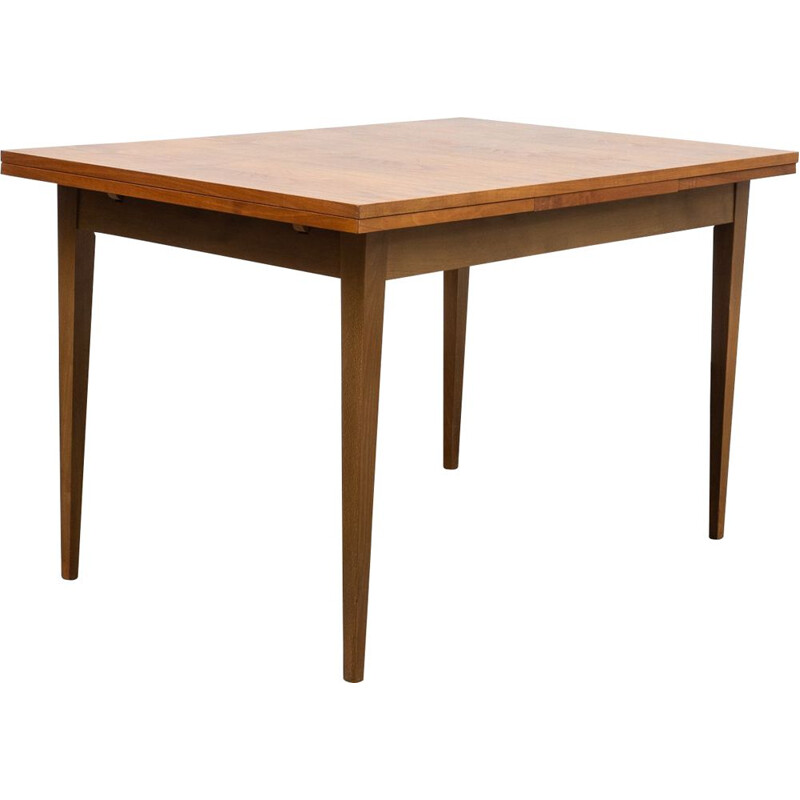 Mid-Century dining table, walnut 1960s
