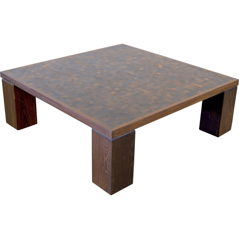 Vintage coffee table by Middelboe & Lindum Tranekaer wengé