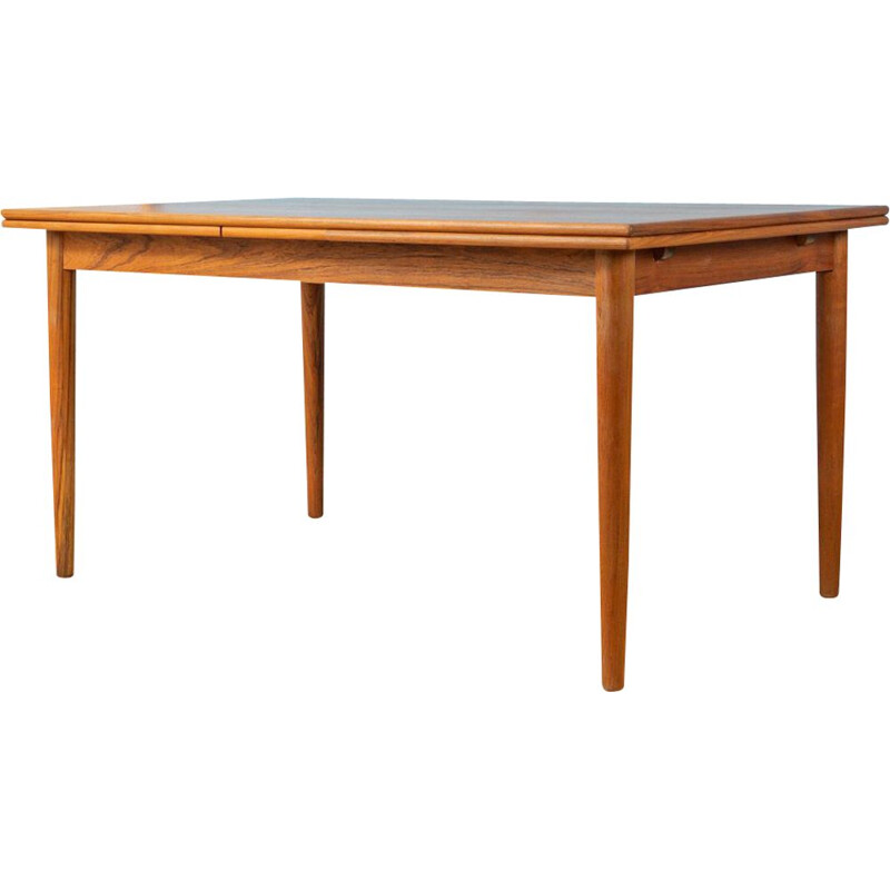 Vintage Teak dining table Scandinavian Germany 1960s