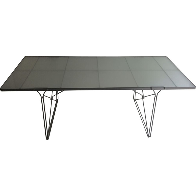 Vintage Desk or dining table by Niels Gammelgaard 1980