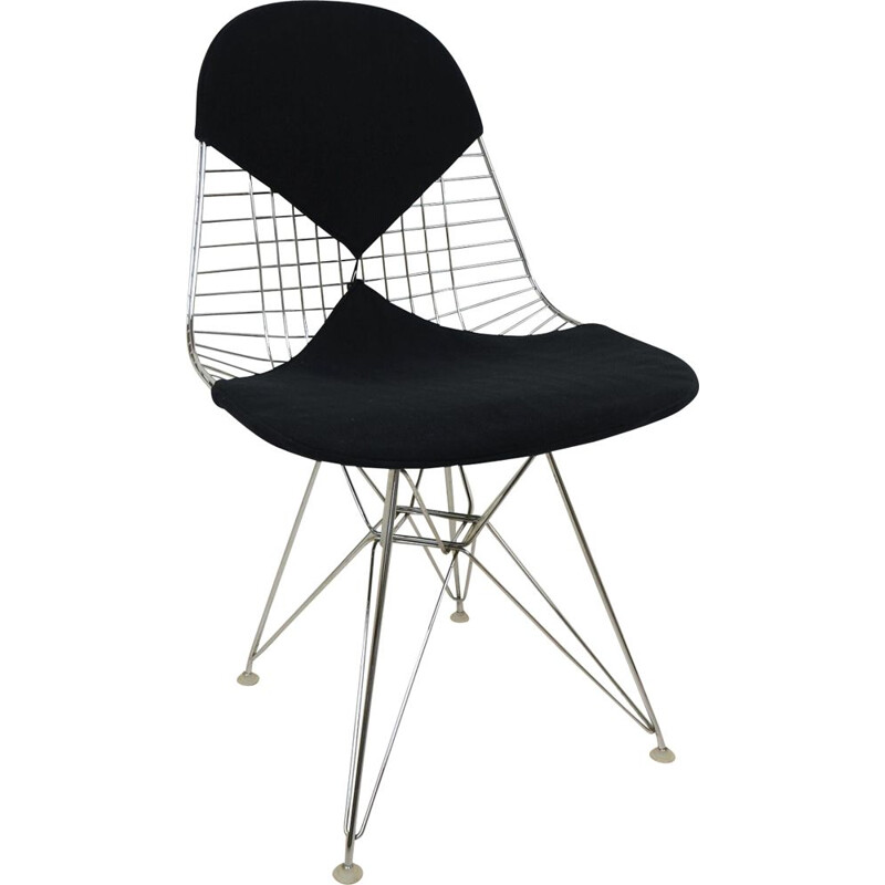 Model DKR-2 Wire Chair by Charles & Ray Eames for Herman Miller, USA, 1960s