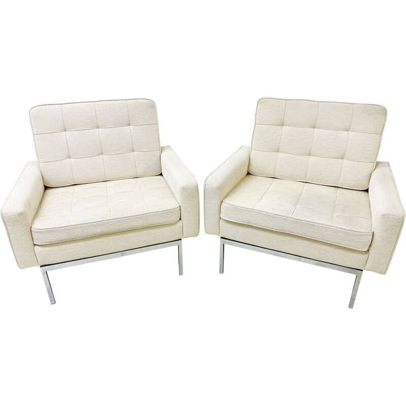 Pair of Vintage Armchairs model 67 A by Florence Knoll - Knoll 1975