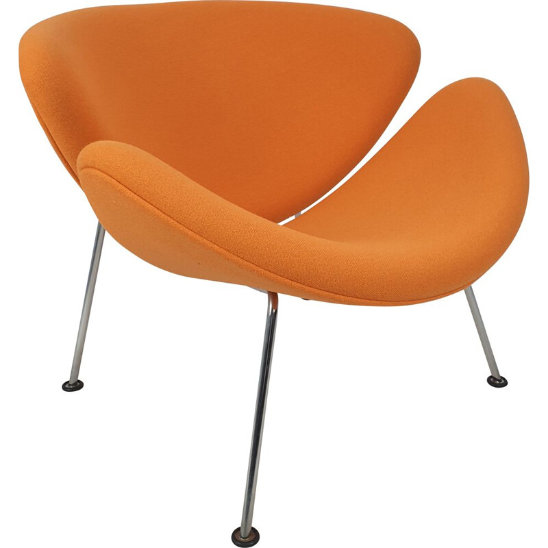 Vintage Orange Slice Lounge Chair by Pierre Paulin for Artifort, 1980s