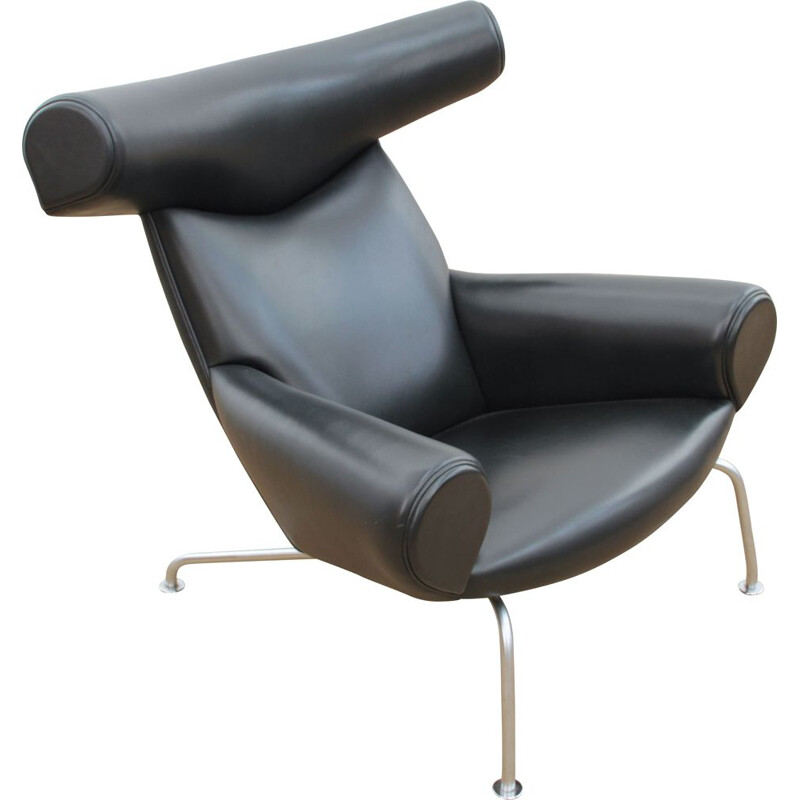 Vintage armchair model Ox Chair Scandinavian black 2006