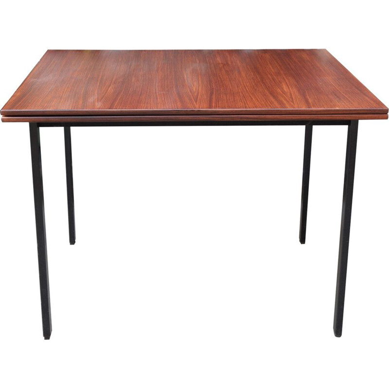 Vintage extensible rosewood table Pierre Guariche