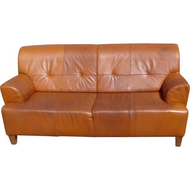 Vintage Leather sofa,1970