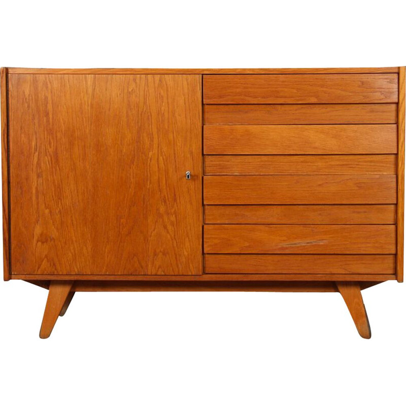 Vintage chest of drawers by Jiri Jiroutek, model U-458, 1960