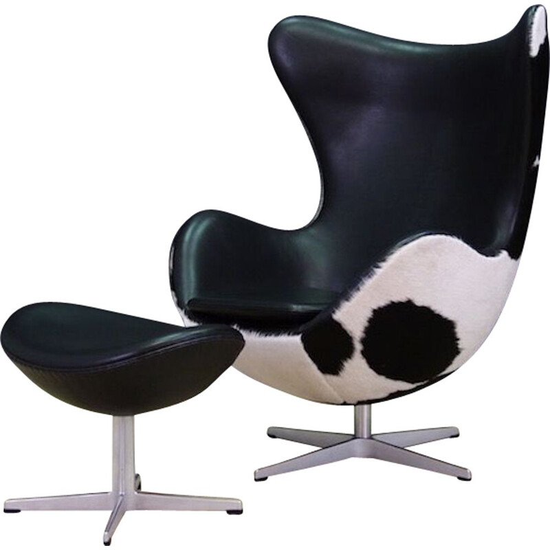 Vintage armchair by Arne Jacobsen for Fritz Hansen, 1980