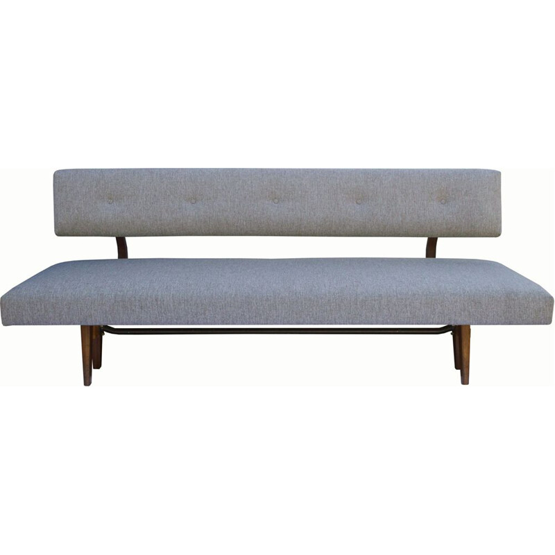 Vintage daybed in grey 1960s