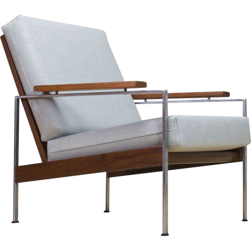Vintage lounge chair by Rob Parry in teak and metal 1960